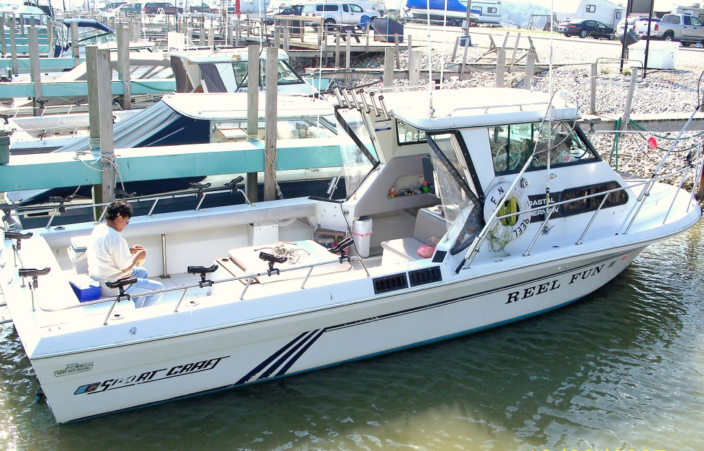 Reel fun charters for Lake fishing boats